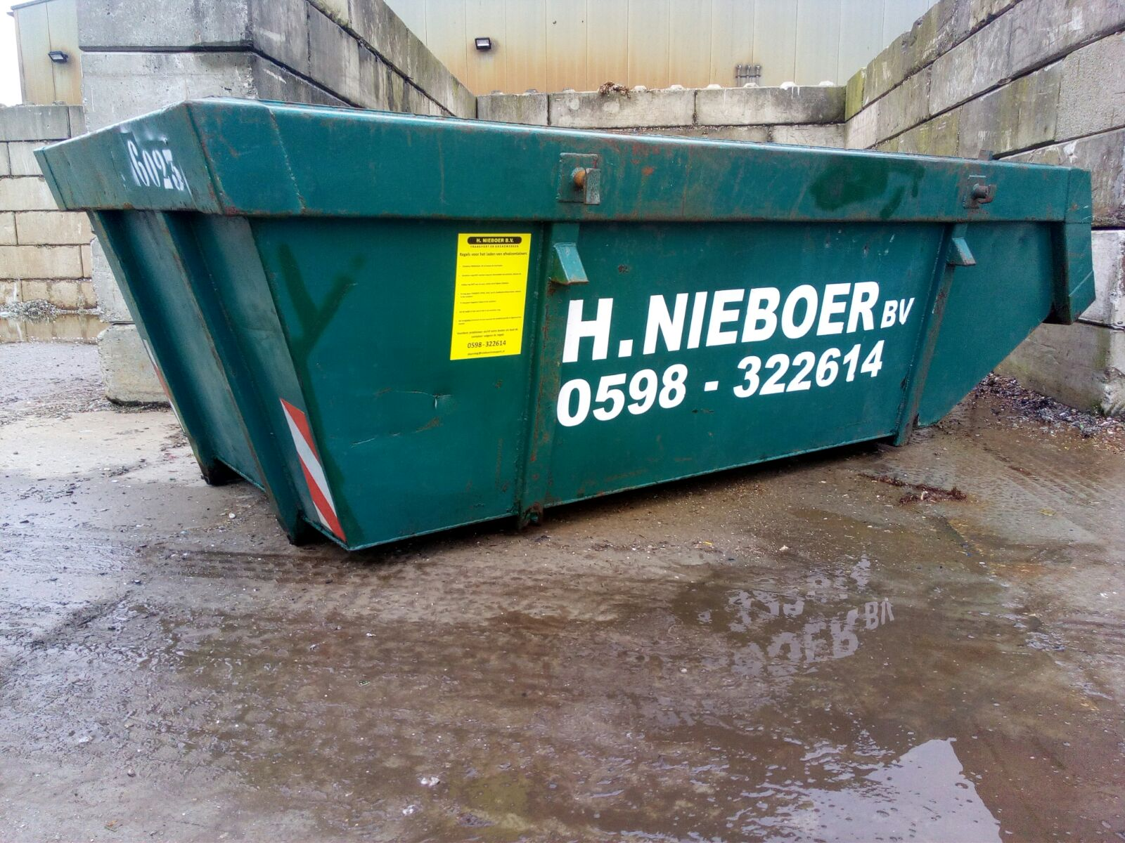 6m3 afvalcontainer